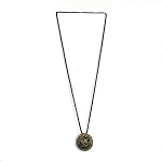 BRONZE BALL NECKLACE