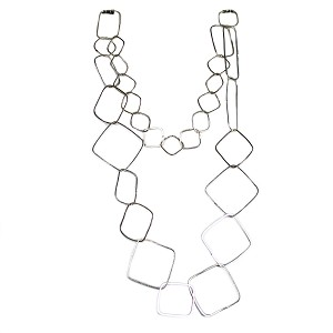 GARLAND OF SHAPES  NECKLACE