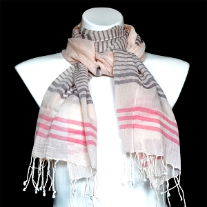 STRIPED COTTON SCARVES WAS 2019-2