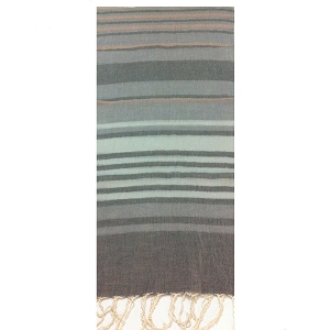 STRIPED COTTON SCARVES