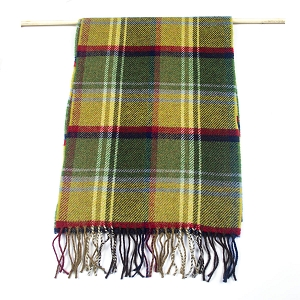 Irish Lambs Wool Scarf- Leaf Heritage