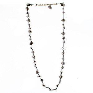 SLVR 1060 SILVER PLATE NECKLACE