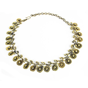 BNZ1061 PEBBLES NECKLACE