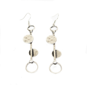 E-3 CIRCLE EARRINGS