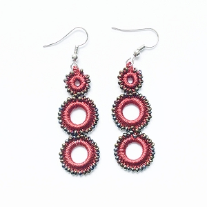 PARADE OF CIRCLES EARRINGS