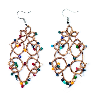 FCE009 WONDERLAND EARRINGS