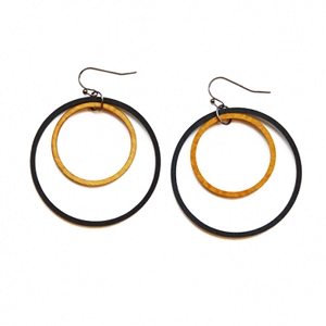 ME05 INTRICATE CIRCLES EARRING