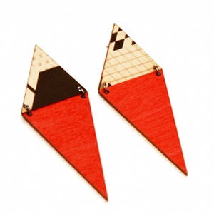 ME12 GEO-PEPPER  EARRING