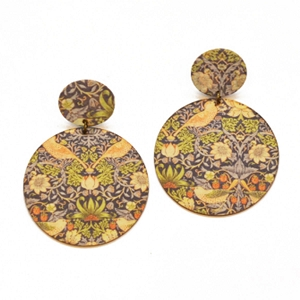 ME13 FLORAL  EARRING