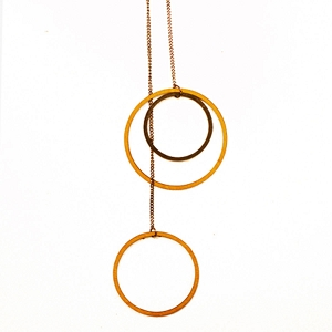 MN05 INTRICATE CIRCLES NECKLACE