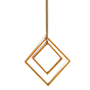MN06 INTRICATE SQUARES NECKLACE