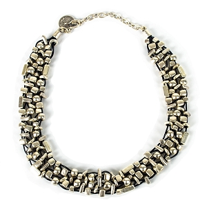 SLVR1034 SILVER PLATE NECKLACE