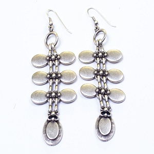 TE4753 SMALL OVAL EARRINGS