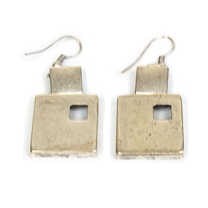 TE4532 MARCH OF SQUARES EARRINGS