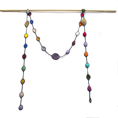 RAINBOW OYA SCARF NECKLACE