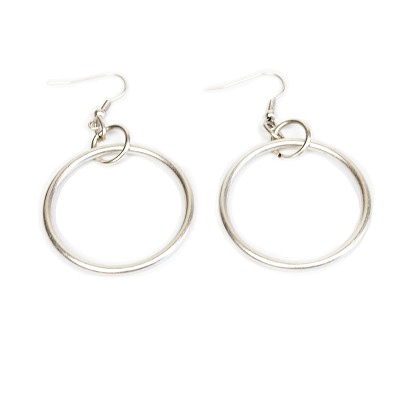 NEW1E OPEN LOOP  EARRING
