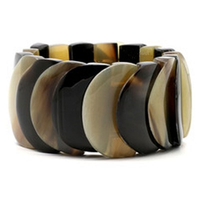 Q5169 FLEXIBLE  LAYERED NATURAL  BRACELET