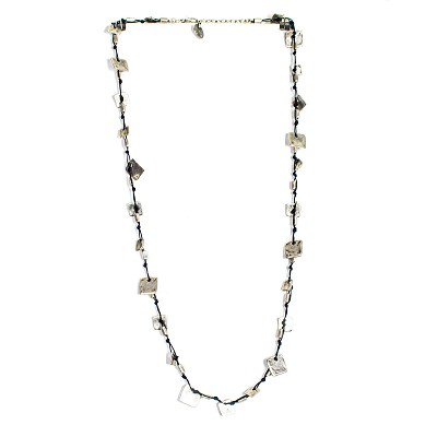 SLVR1031 SILVER PLATE NECKLACE