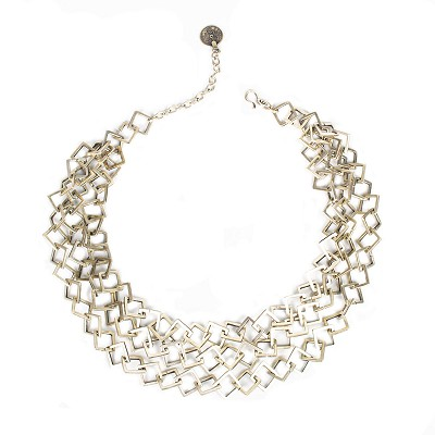 TN1600 SQUARE CHAIN NECKLACE